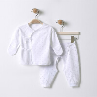 婴儿衣服春秋装夏季0-3月套装绑带6内衣新生儿和尚服毓恩服饰