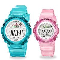 儿童电子表防水夜光男孩女孩开学礼物小学生时尚电子表