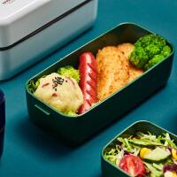 日本象普上班族可微波炉便当盒学生餐盒可爱减脂分隔健身便携套装700ml