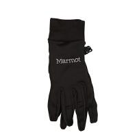 【开学季】Marmot/土拨鼠户外运动女式分指弹力可触屏抓绒手套