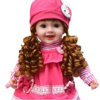 智能对话娃娃女孩儿童电动玩具布娃娃仿真会说话的洋娃娃