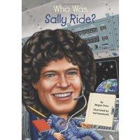 【现货】英文原版 Who Was Sally Ride? 萨利・莱德是谁? 名人传记 中小学生读物