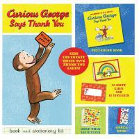 现货 英文原版Curious George Says Tha好奇的乔治 儿童读物