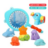 儿童沙滩玩具套装玩沙子挖铲子工具决明子宝宝戏水洗澡玩具c +喷水小象