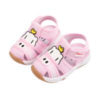 男宝宝鞋子婴儿防滑软底凉鞋幼儿不掉小童女学步鞋