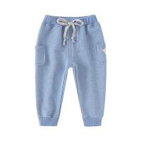 宝宝裤子春秋男童外穿儿童长裤婴儿休闲裤运动裤