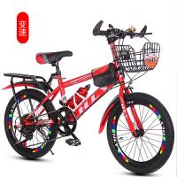 儿童女男孩中大童18-20寸儿童脚踏车7-8-9-15山地变速6-10岁自行车