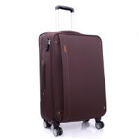 商务旅行箱24寸学生密码箱牛津布28寸拉杆箱男女行李箱20寸软箱包可商务