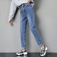Lee Cooper夏季新品小直筒时尚有型显瘦小个子百搭个性牛仔裤女 LCWB8237