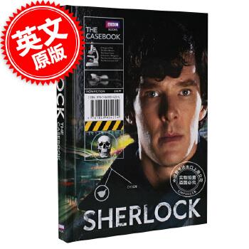 现货 英文原版福尔摩斯Sherlock: The Casebook BBC神探夏洛克 现货
