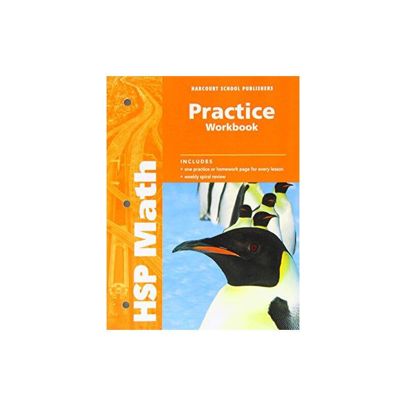 【预订】Harcourt School Publishers Math: Practice Workbook Student ... 9780153567629 美国库房发货,通常付款后3-5周到货!