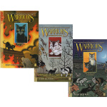 英文原版 Warriors: Ravenpaw's Path 猫武士 乌爪的旅程 3册 漫画绘本小说 儿童冒险文字读物