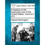 【预订】A Treatise on the Bankruptcy Law of the United States.