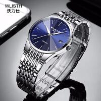 手�l新款情侣手表男士商务防水表时尚韩版女士手表