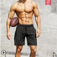 运动短裤男士健身跑步速干薄款休闲宽松训练篮球沙滩中五分裤