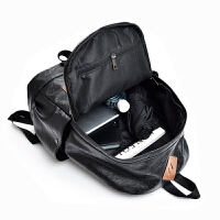 男士双肩包休闲时尚韩版书包商务出差简约背包