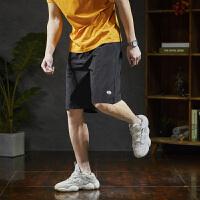 【1折价23元】唐狮夏新款休闲短裤男潮五分裤男士短裤运动男短裤子夏季