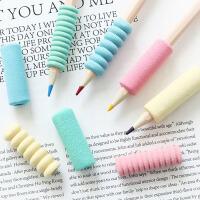 舒适海绵学生握笔器幼儿园宝宝学姿握笔套软胶铅笔套纠正握笔姿势