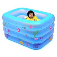 幼儿童游泳加厚室内小孩宝宝洗澡桶新生婴儿游泳池家用充气大号