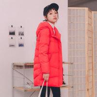 新年特惠女士棉袄女装冬装新款羽棉袄女2019新款韩版学生冬季宽松bf冬装外套冬女加厚
