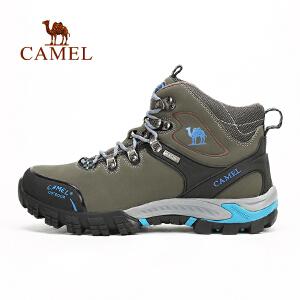 camel骆驼户外男款登山鞋 秋冬 透气防滑减震耐磨高帮鞋登山鞋男