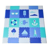 婴儿爬爬垫拼图游戏围栏儿童泡沫地垫毯宝宝爬行垫厚拼接垫