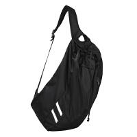 登山包运动休闲双肩包女健身包男篮球包足球包便携抽绳袋袋游泳 黑色 20升以下