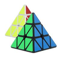 圣手传奇金字塔魔方三阶异形 小学生异型益智儿童玩具比赛用三角形魔方配教程