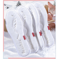 羽绒保暖鞋垫女透气吸汗男加厚软加绒运动软底舒适冬季棉鞋垫