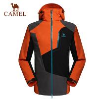 camel骆驼冲锋衣情侣款秋冬防风保暖两件套三合一