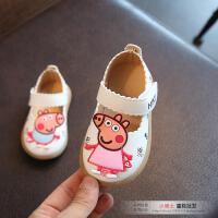 2017春秋女宝宝学步鞋子单鞋1-2-3周岁女童皮鞋幼儿软底公主童鞋