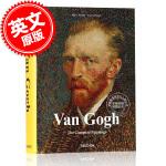 现货 英文原版 Van Gogh: The Complete Paintings 梵高画集 艺术画册 精装 大开本 T