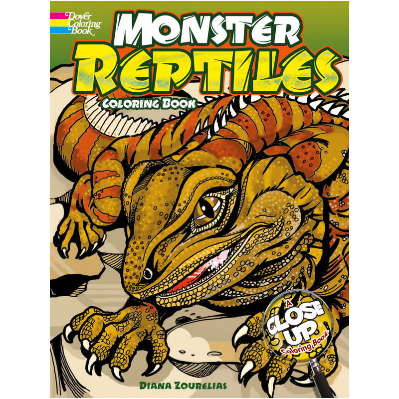 Monster Reptiles 按需印刷商品,15天发货,非质量问题不接受退换货。