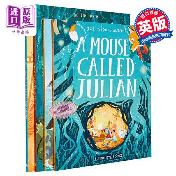 【中商原版】Joe Todd Stanton故事绘本4册 英文原版 The Secret of Black Rock 神话传说故事 获奖名家 水石奖