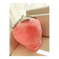 ins可爱草莓抱枕菠萝公仔少女心粉色玩偶毛绒玩具娃娃送女生 草莓40厘米 其它大小