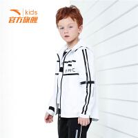 安踏童装男童梭织运动上衣儿童运动外套35838643
