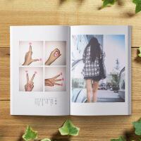礼物照片书聊天记录相册制作情侣写真diy手工创意做定制 42P-照片定制书籍【精装款】
