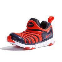 耐克(Nike)儿童鞋毛毛虫童鞋舒适运动休闲鞋343738-015 黑/红