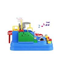 托马斯小火车轨道套装抖音男孩汽车闯关大冒险1-3岁儿童玩具 大礼盒-直升机-起重机