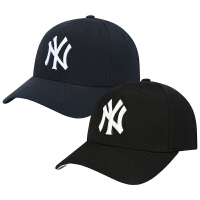 棒球帽全封NY帽子秋冬男女情侣韩版潮户外出游遮阳鸭舌帽