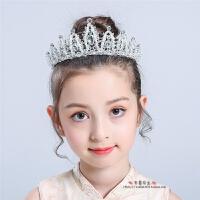 儿童头饰公主女童王冠水晶冰雪奇缘水钻活动演出发饰礼服配饰