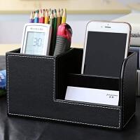 笔筒创意时尚欧式学生多功能桌面用品办公室韩国文具收纳盒小清新