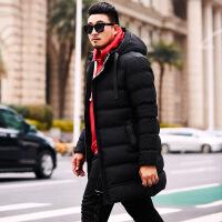 男冬季加肥加大码棉衣中长款胖子潮牌肥佬棉袄200斤外套 553