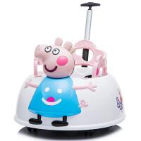 小猪儿童电动车四轮遥控汽车可坐扭扭小孩童车宝宝玩具车可坐人