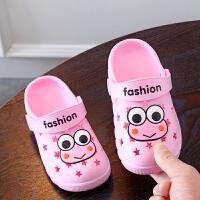 儿童洞洞鞋宝宝1-3岁夏季男女凉拖鞋婴幼儿防软底花园鞋沙滩鞋