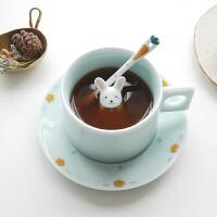 陶瓷咖啡杯套装家用牛奶杯早餐杯可爱杯子女创意马克杯