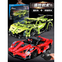 兼容乐高积木拼装玩具益智6-7-8-10岁男孩子机械组儿童电动遥控车