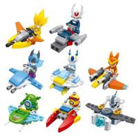 新款星钻赛尔号星际小飞船八款 6-8岁拼插拼装积木男孩儿童 玩具
