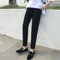 2019新款春装孕妇裤子潮妈孕妇打底裤春秋薄款小脚裤子