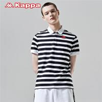 Kappa卡帕 男运动短袖POLO衫休闲半袖夏季T恤 2019新款K0912PD02